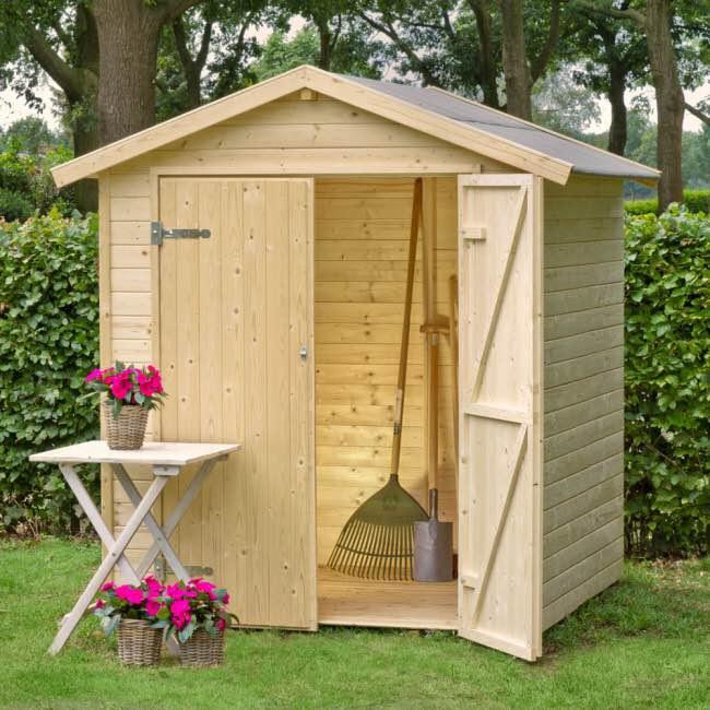 Casette in legno edilvibro for Armadio legno giardino