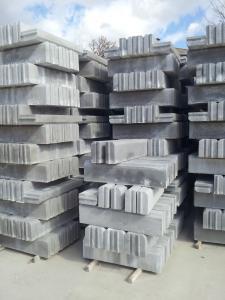 Cordoli in Cemento 12x25x100
