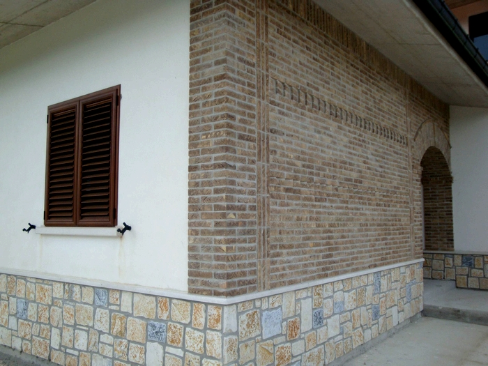 Arco con mattoni a vista ispirazione di design per la for Mattoni a vista interni
