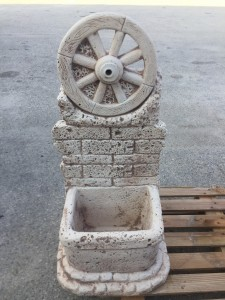 Fontana  RUOTA ANTICATA MATTONE   5